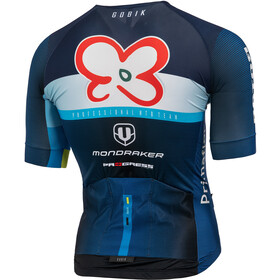 Mondraker Team Replica XC Jersey Korte Mouwen Heren, blue